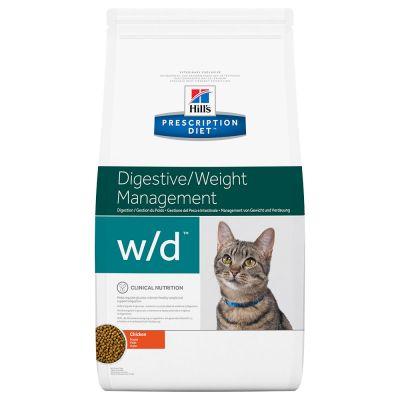 Hill's w/d  Prescription Diet Feline - secco