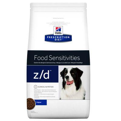Hill's z/d Prescription Diet Canine  Food Sensitivities  - secco