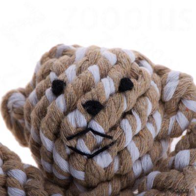Hundespielzeug Tierfigur aus Baumwolltau