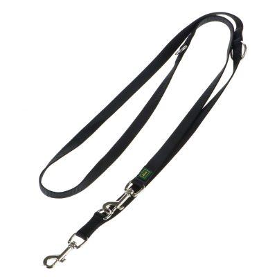 Hunter Hundeleine Vario Basic, schwarz
