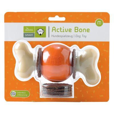 Hunter Hundespielzeug Active Bone Medium