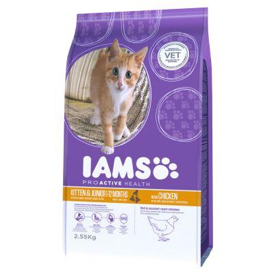 Iams Proactive Health Kitten & Junior Chicken Dry Food