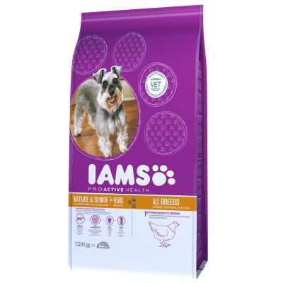 Iams Proactive Health Mature Amp Senior Dog Chicken Buy
