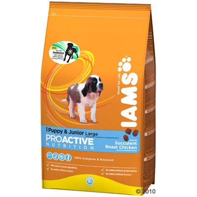Iams Proactive Health Puppy & Junior Large Ricco di Pollo