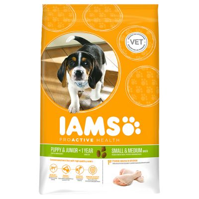 Iams Proactive Health Puppy & Junior Small & Medium