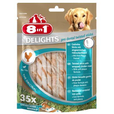 8in1 Delights Pro Dental Twisted Sticks