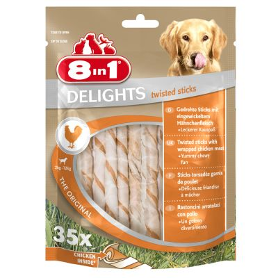 8in1 Delights Twisted Sticks