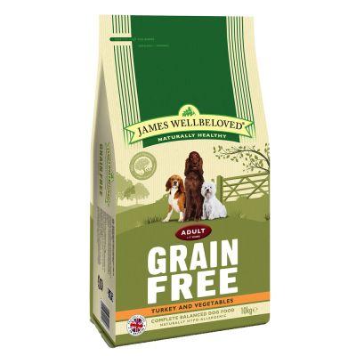 James Wellbeloved Adult senza cereali Tacchino & Verdure