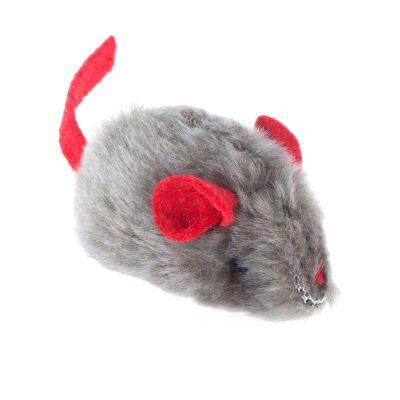 Katzenspielzeug Maus mit Katzenminze und Stimme