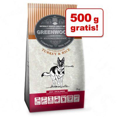 3,5 kg + 500 g gratis! 4 kg Greenwoods