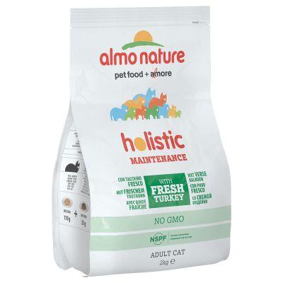 12 kg Almo Nature Holistic + 6 x 70 g Almo Nature gratis!