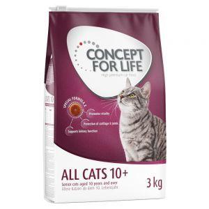 3 kg Concept for Life Trockenfutter + 24 x 85 g Nassfutter