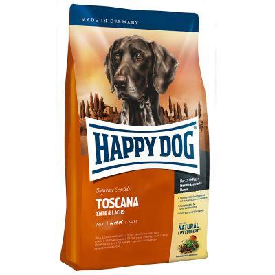 12,5 kg Happy Dog Supreme + 2 x 30 g (3 Sticks á 10 g) Tasty Sticks gratis!
