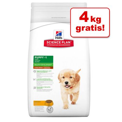 12 + 4! 16 kg Hill's Canine Puppy Large Breed Hundefutter