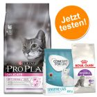 1,5 kg Pro Plan Delicate Truthahn + 400 g Royal Canin Sensible und Concept for Life