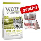12 kg Wolf of Wilderness + przysmak Wolf of Wilderness, wątroba wołowa, 90 g gratis!