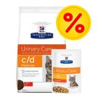 Kombipack: Hill's c/d Prescription Diet Feline