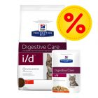 Kombipack: Hill's i/d Prescription Diet Feline - i portionspåse