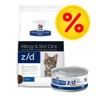 Kombipack: Hill's z/d Prescription Diet Feline