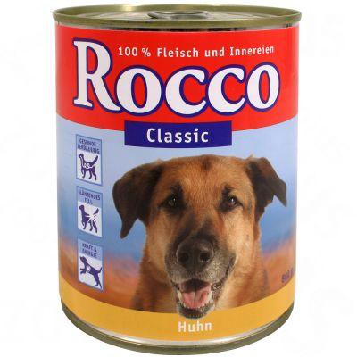 Kombi-Paket: 7,5 kg Meradog Flockenmix + 6 x Rocco Classic