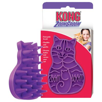 KONG Massage Brush Zoom Groom