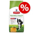 10% korting op een grote zak Hill's Youthful Vitality droogvoer