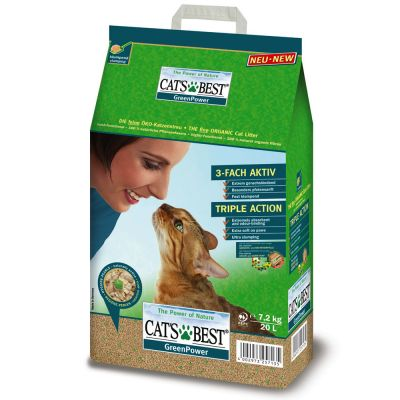 Lettiera Cat's Best Green Power