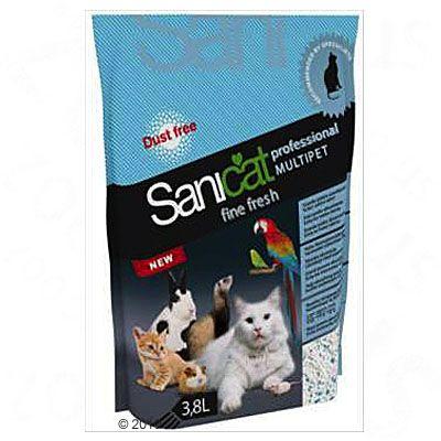 Lettiera Sanicat Professional Multipet Fine Fresh
