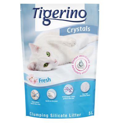 Lettiera Tigerino Crystals Fresh