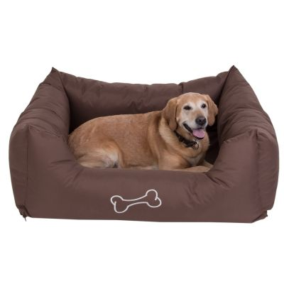 Letto per cani strong soft marrone zooplus - Letto per cani ...
