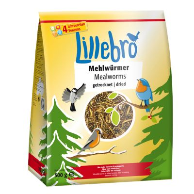 Lillebro Mehlwürmer getrocknet