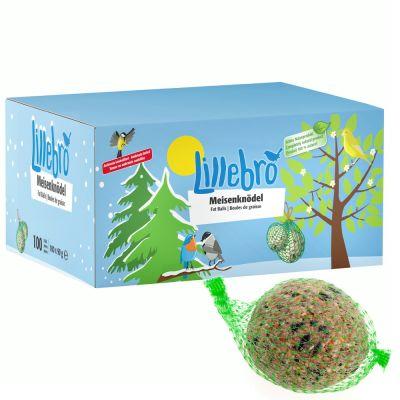 Lillebro Pastone invernale per uccelli selvatici - in box