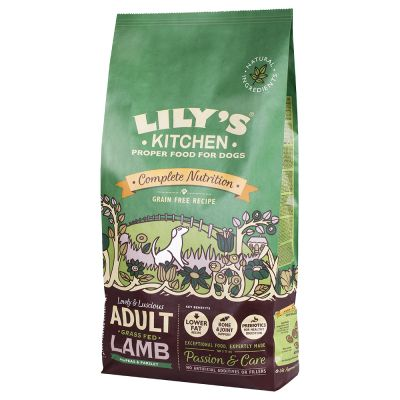 Lily\'s Kitchen Adult Grass Fed Lamb Grain Free Dry Food for Dogs ...