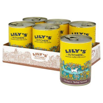 Lily\'s Kitchen Chicken & Turkey Casserole wet Dog food