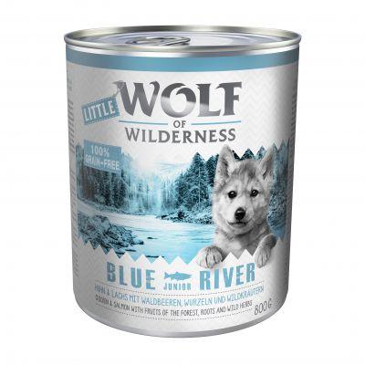 Little Wolf of Wilderness 6 x 800 g Hondenvoer
