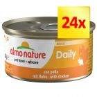 Lot Almo Nature Daily Menu 24 x 85 g