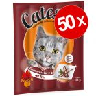 Lot Catessy, 50 bâtonnets à mâcher pour chat