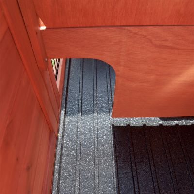 Lot : clapier & enclos Outback Compact + housse