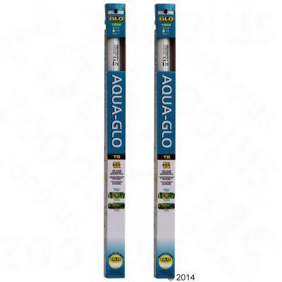 Lot de 2 tubes fluorescents Hagen Aqua-Glo