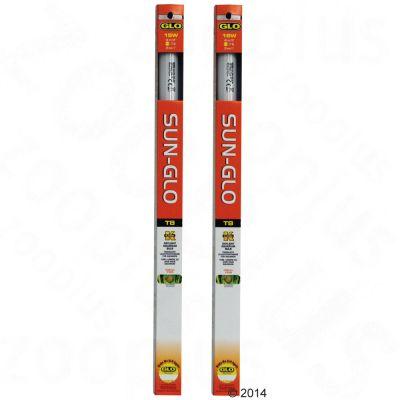 Lot de 2 tubes fluorescents Hagen Sun-Glo