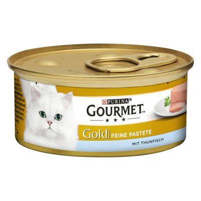 Lot Gourmet Gold Les Mousselines 24 x 85 g pour chat