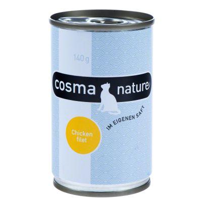 Lot mixte Cosma Original + Thai + Nature pour chat