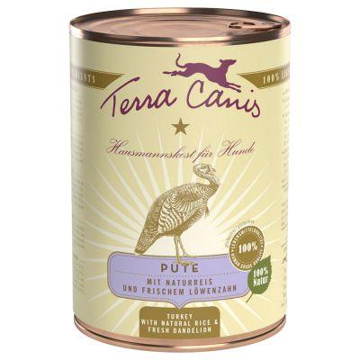 Lot mixte Terra Canis 12 x 400 g pour chien