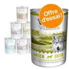 Lot mixte Wolf of Wilderness 400 g pour chien