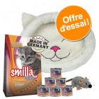 Lot Smilla Kitten + panier Trixie Mijou + souris en peluche Trixie