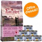 Lot spécial chaton Purizon 400 g & Cosma Nature 6 x 70 g