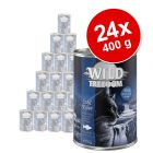 Lot Wild Freedom Adult 24 x 400 g