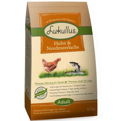 Lukullus Dog Food Chicken & Northern Wild Salmon
