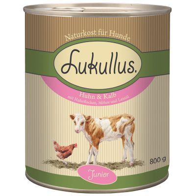 Lukullus Junior Kip & Kalf Hondenvoer
