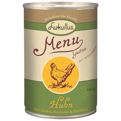 Lukullus Menu Gustico Chicken with Spelt, Parsnip & Courgette